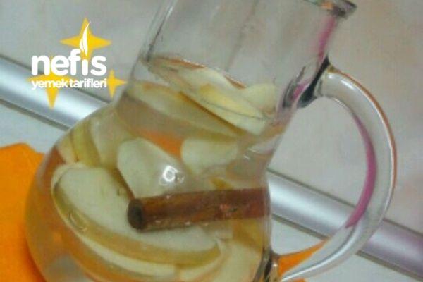 Elma Ve Tarçın Detox Suyu
