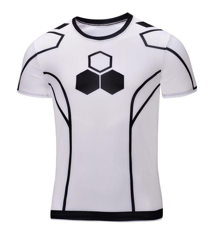 Haute qualité nouveau 2015 Hommes super-héros Batman Maillot chemise à séchage rapide remise en forme de compression séchage t-shirt 3D hommes 21 style