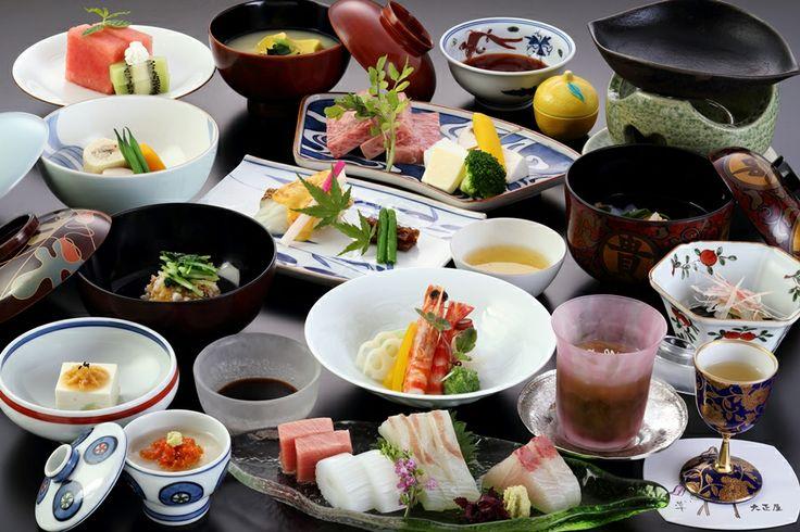 嬉野温泉 大正屋 料理|月替わりの会席料理