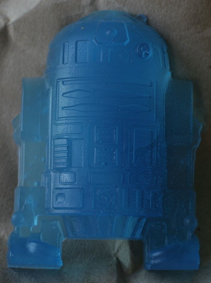 Aromatherapy Soap- Star Wars Collection - R2D2- Electric Blue - Large Size