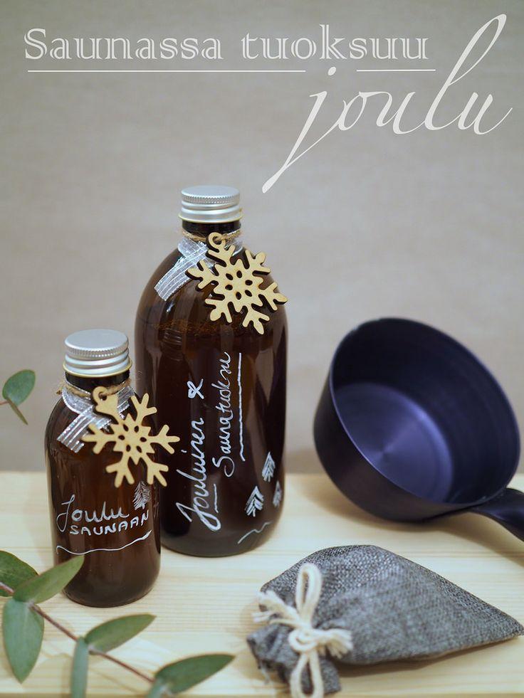 DIY Christmas Sauna Fragrances / Itse tehty saunatuoksu