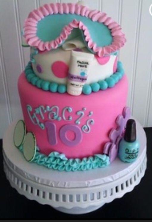 Sleepover cake! I want this to be my birthday cake!:)
