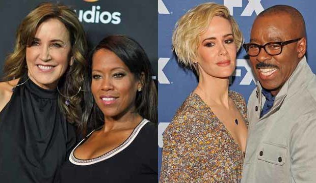 Felicity Huffman, Regina King, Sarah Paulson, Courtney B. Vance