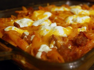 Cheesy Sausage Penne | Main Dishes | Pinterest | Penne and Sausages