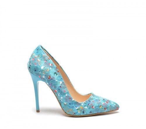 Pantofi Prego Albastri