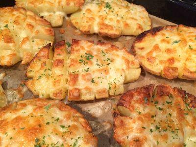 Lekker eten met Marlon: Kaasaardappelen uit de oven