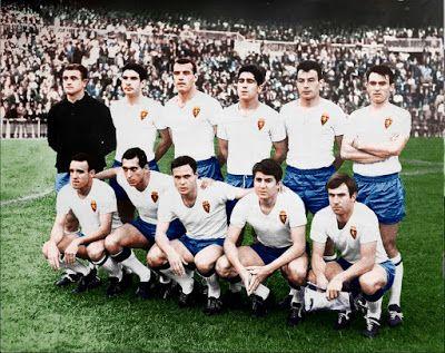 Equipos de fútbol: REAL ZARAGOZA Campeón de Copa 1966