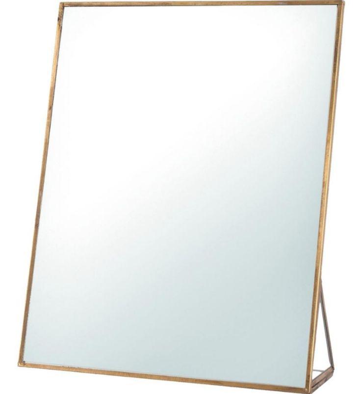 Geef jouw dressoir een unieke uitstraling met deze prachtige, klassieke tafelspiegel, in maat S (13x6x18) of L (20x6x25) - Goossens wonen & slapen