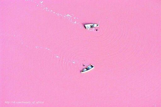 Сенегал Озеро Ретба
