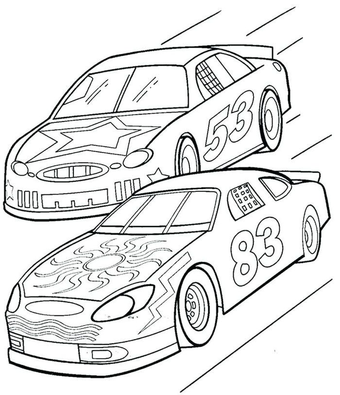 Free Printable Car Coloring Pages Race Car Coloring Pages Cars Coloring Pages Truck Coloring Pages