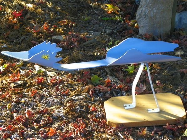 17 best images about garden decor on pinterest junk art for How to make pvc pipe birds