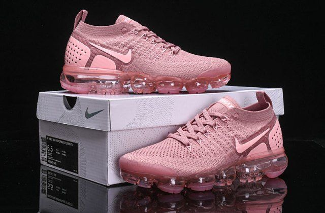 best cheap bf361 71cfa New Arrivel Nike Air VaporMax Flyknit 2. 0 W Sakura Pink ...