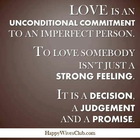 relationship and commitment