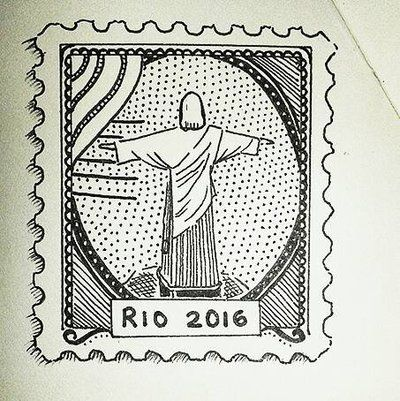 Rio 2016 stamp 1 by Arualmelody on DeviantArt