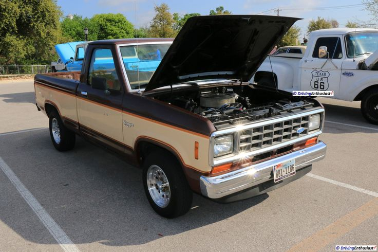 Ford Ranger with 302 engine swap, as shown at the March 19, 2017 Round Rock TX USA car show.