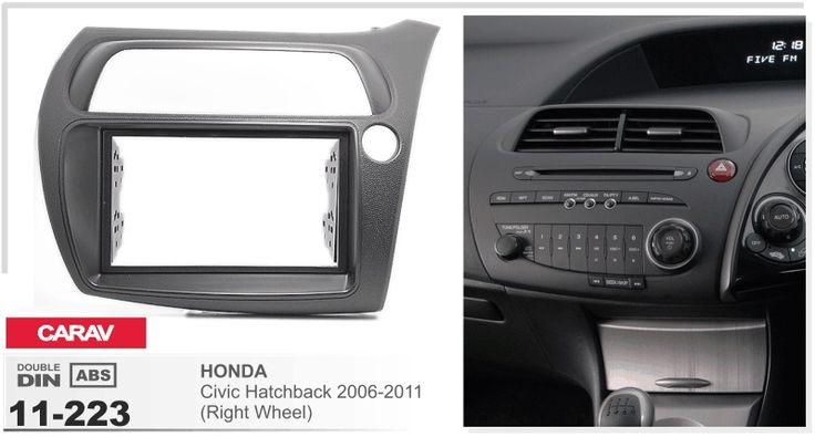 frame+Car DVD radio Android 5.1.1 Autoradio GPS Player Headunit for honda civic hatchback 2006-2011 R stereo dvr tape recorder #Affiliate