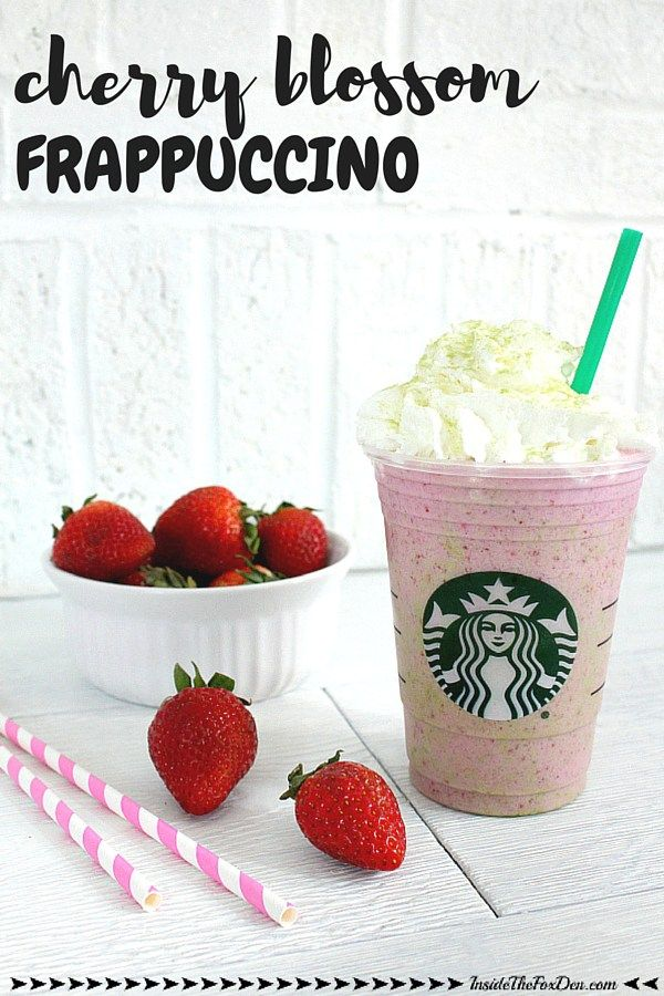 Starbucks' Cherry Blossom Frappuccino may have been limited edition, but this recipe is here to stay!