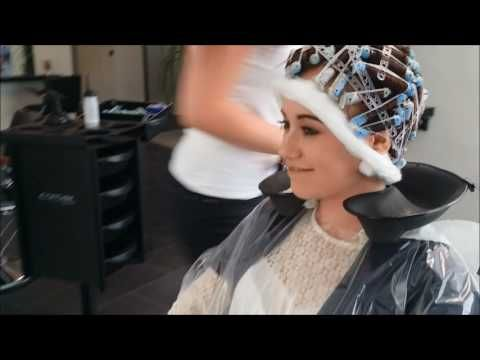 Perm 2.0 Dauerwelle / Perm in longer hair by JÖRG MENGEL FRISEURE - YouTube