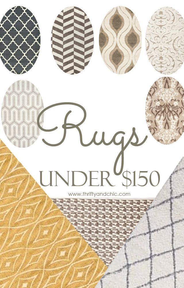 15 inexpensive area rugs for your home!