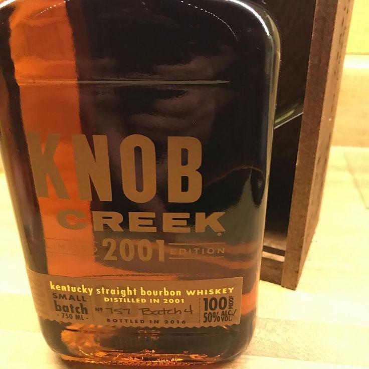 Open the kraken knobcreek bourbon whiskey whiskey