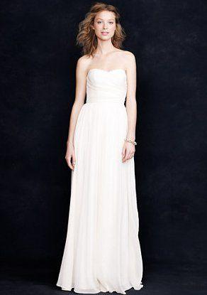 Pin for Later: Les Meilleures Robes de Mariée du Web  J.Crew robe Arabelle (712€)