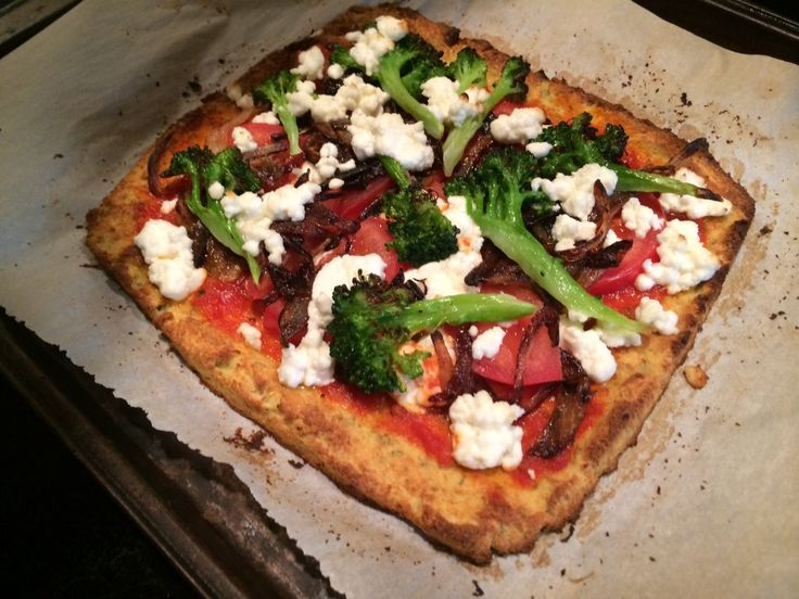 Cravings for pizza don't only come when on Route 1 late nights. Here's a recipe for a healthy pizza with a cauliflower crust that will blow you away.