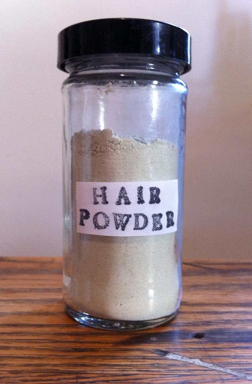 Hair powder - healthy for your hair!
