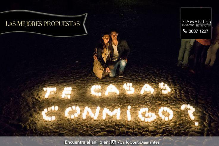 Ilumina tu #propuesta de #matrimonio con velas y crea una #noche muy #romántica, nuestra recomendación de #anillo la encuentras en Instagram o Facebook.  #LasMejoresPropuestas #CarloConti #Gdl #GaleríaJoyera