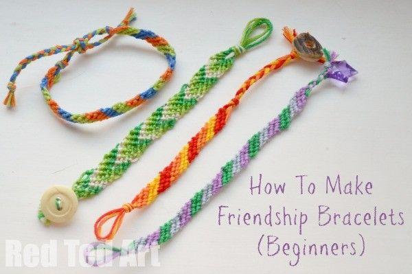 How to Make Friendship Bracelets for Beginners
