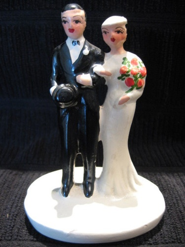 Wedding Cake Topper Groom In A Casket