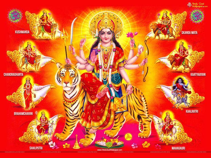 Nav Durga - Free Maa Nav Durga HD wallpaper Download
