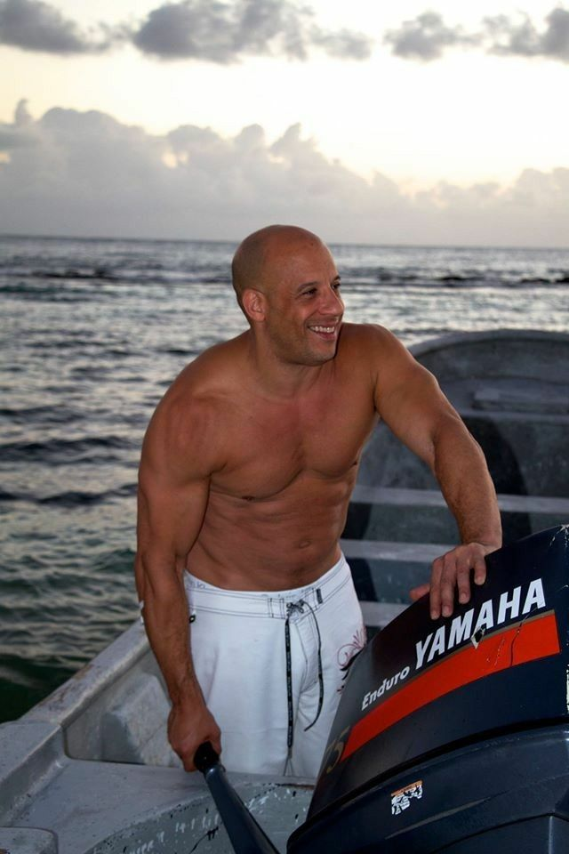 Vin Diesel Vin Diesel Shirtless Vin Diesel Vin Diesel Wife