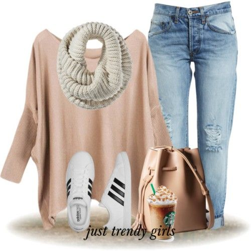 nude-batwing-sweater-outfit- Casual outfits mix and match http://www.justtrendygirls.com/casual-outfits-mix-and-match/