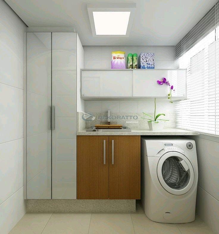 Dónde colocar la lavadora? En la terraza, en la cocina o en el baño? Unosconsejos para encontrar el lugar correcto … A pesar que la lavadora es indispensable , por desgracia, pocos de nosotr…