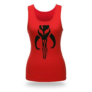 Boba Fett Fitted Tank Top