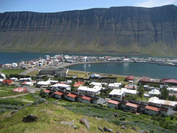 view of Isafjordur, Iceland