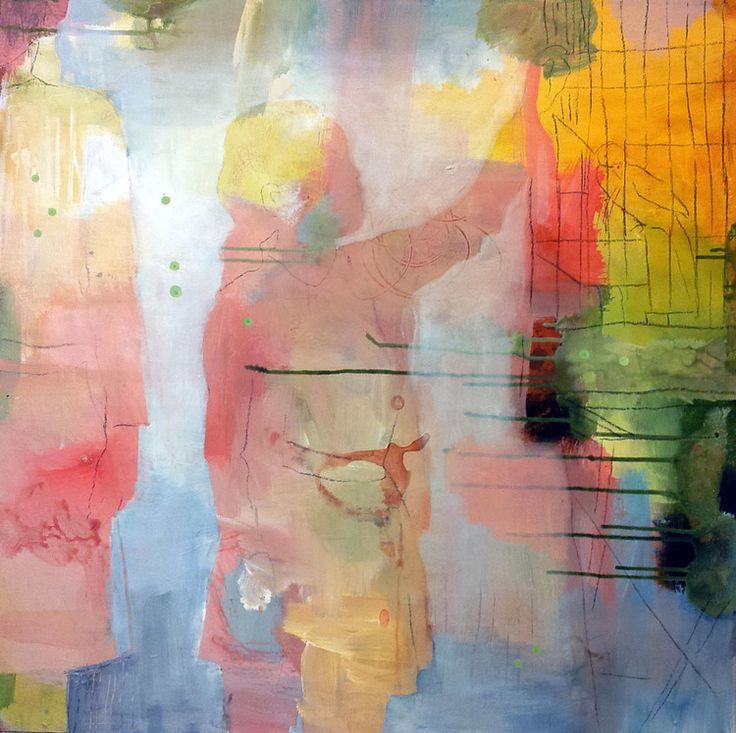 FUGL I BUR BY ANNE-BRITT KRISTIANSEN #fineart #art #painting #kunst #bilde #maleri www.annebrittkristiansen.com/anne-britt-kristiansen-kunst-2013/