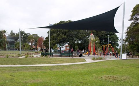 Enmore Park -  There's not one, but two space rockets at Enmore Park playground, which makes it one of our...