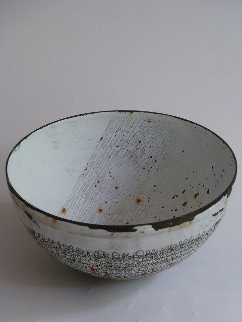 Vitreous enamel vessels by Helen Carnac, via Flickr: http://www.flickr.com/photos/44278837@N08/sets/