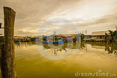 Sekinchan is a small town located in Sabak Bernam, Selangor, Malaysia. It is located along the coastal Federal Route 5. Apart from being a lively fishing village, Sekinchan is one of the major rice producing areas of Malaysia.