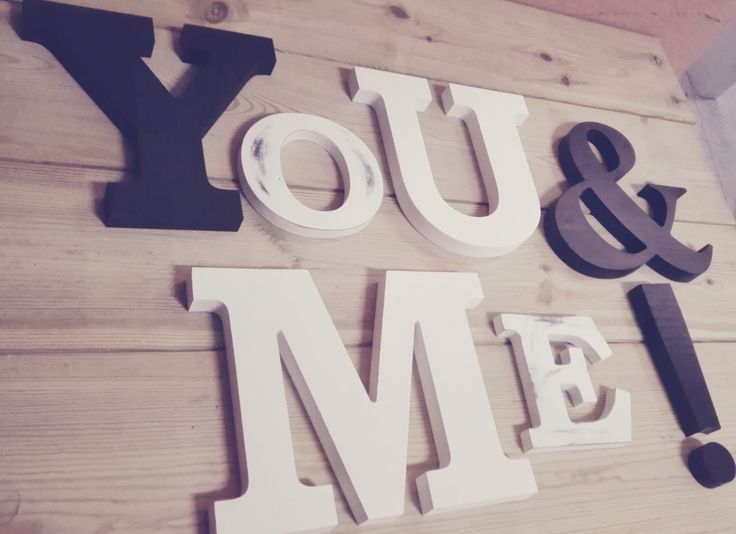 Composición You & Me para decoración de pared.  última unidad 112 euros! ¨