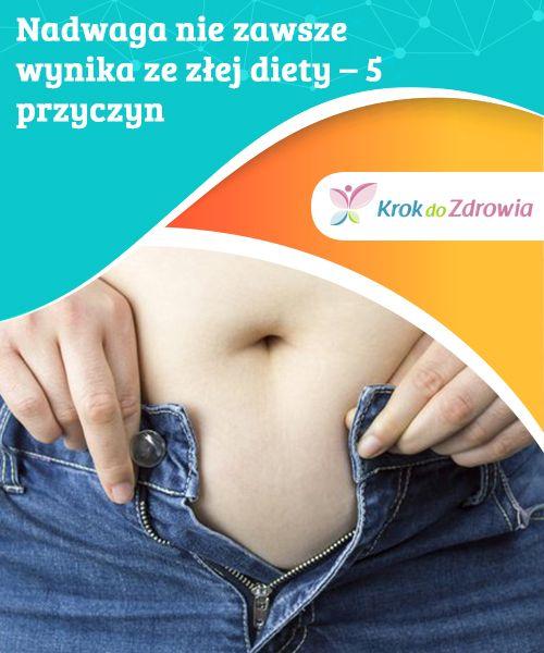 #Nadwaga nie zawsze wynika ze złej diety – 5 #przyczyn  Jeśli dbasz o zbilansowaną dietę ale nie możesz się pozbyć nadwagi, skonsultuj się ze specjalistą i #upewnij się, czy nie cierpisz na jeden w opisanych #niżej problemów.