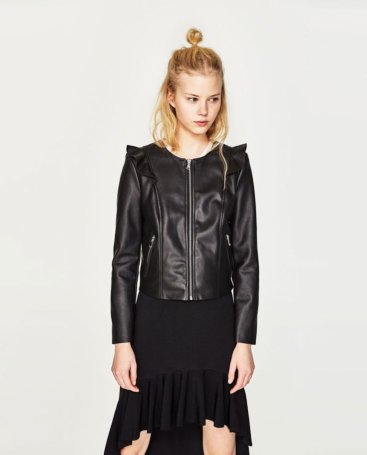CARDIGAN WITH FRILLS-SPECIAL PRICES-WOMAN | ZARA United States