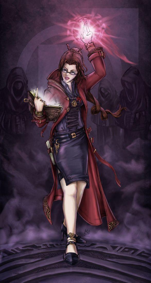 Vampire - Tremere by radiationboyy