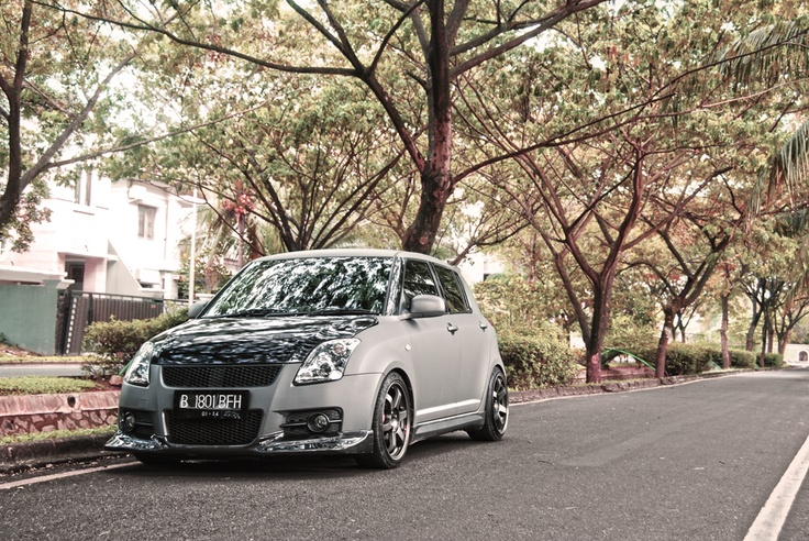 Suzuki Swift with TE37SL