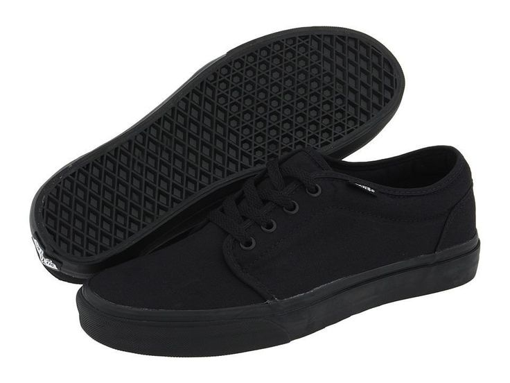 vans shoes mens black