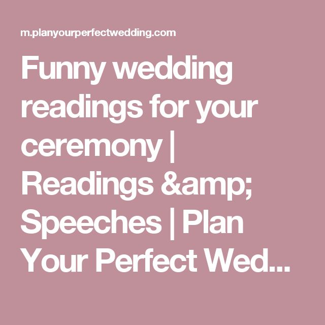 1000+ Ideas About Funny Wedding Speeches On Pinterest