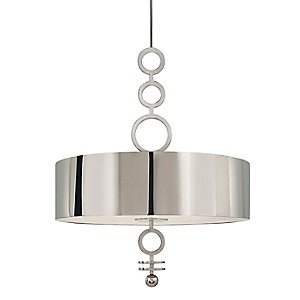Polished Nickel Finish Dianelli Drum Pendant Chandelier by Sonneman Find at Gerrie Lighting Studio 355 Iroquois Shore Rd Oakville  sc 1 st  Pinterest & 61 best Modern Lighting images on Pinterest | Modern lighting ... azcodes.com