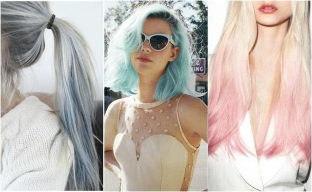 Nowocześnie farbowane włosy - długie, pódługie i krótkie