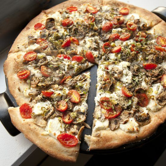... about Pizza + Mushrooms on Pinterest | Pizza, Kale pizza and Cheese